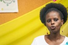 Ines, speaking Kirundi