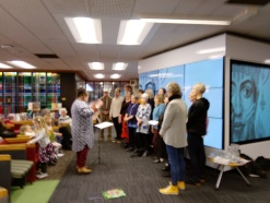 Nor'Easterly Choir sing in multiple languages